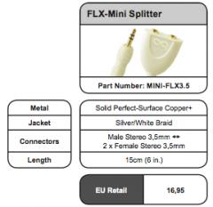 FLX Mini Splitter - Splitters en RCA Adaptors
